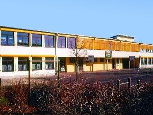Die Erich-Kästner-Schule.